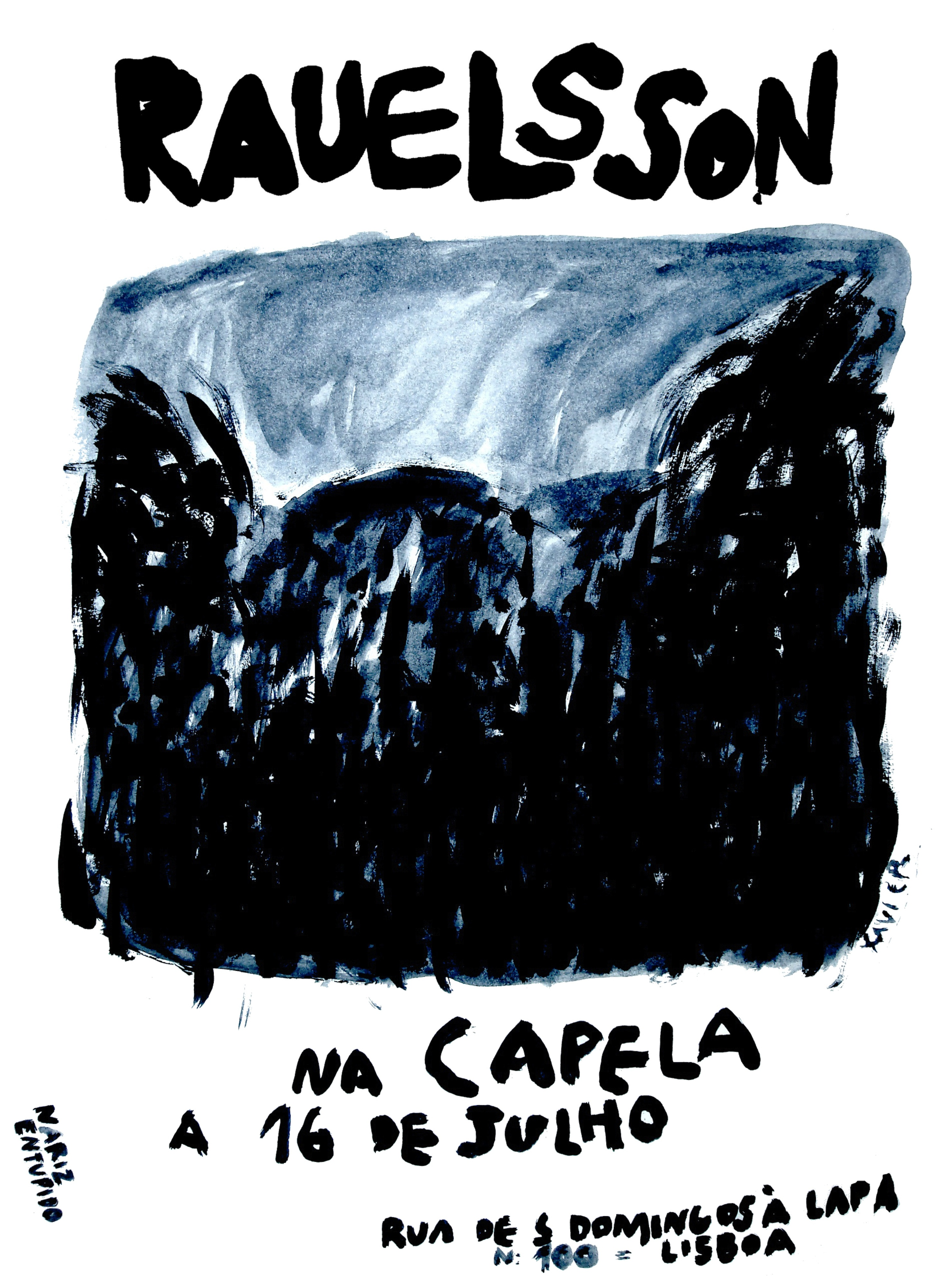 Rauelsson a 16 de Julho em Lisboa