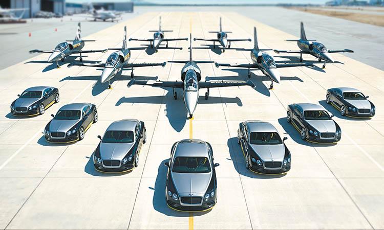 Sete carros, Sete aviões, Sete cronógrafos