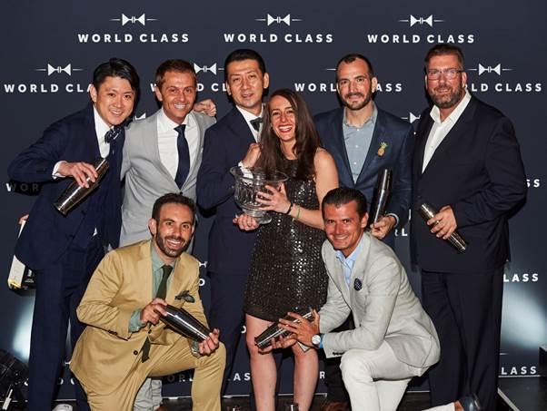 WORLD CLASS Bartender of the Year com uma vencedora