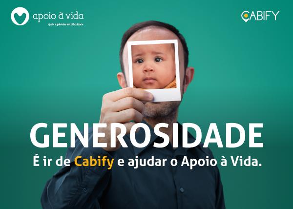 Cabify apoia a Vida