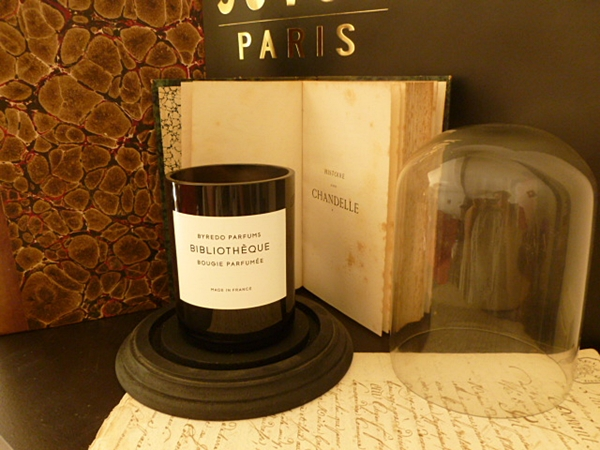 Um aroma com a mística dos livros