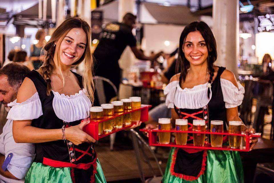 Cerveja no Mercado de Campo de Ourique
