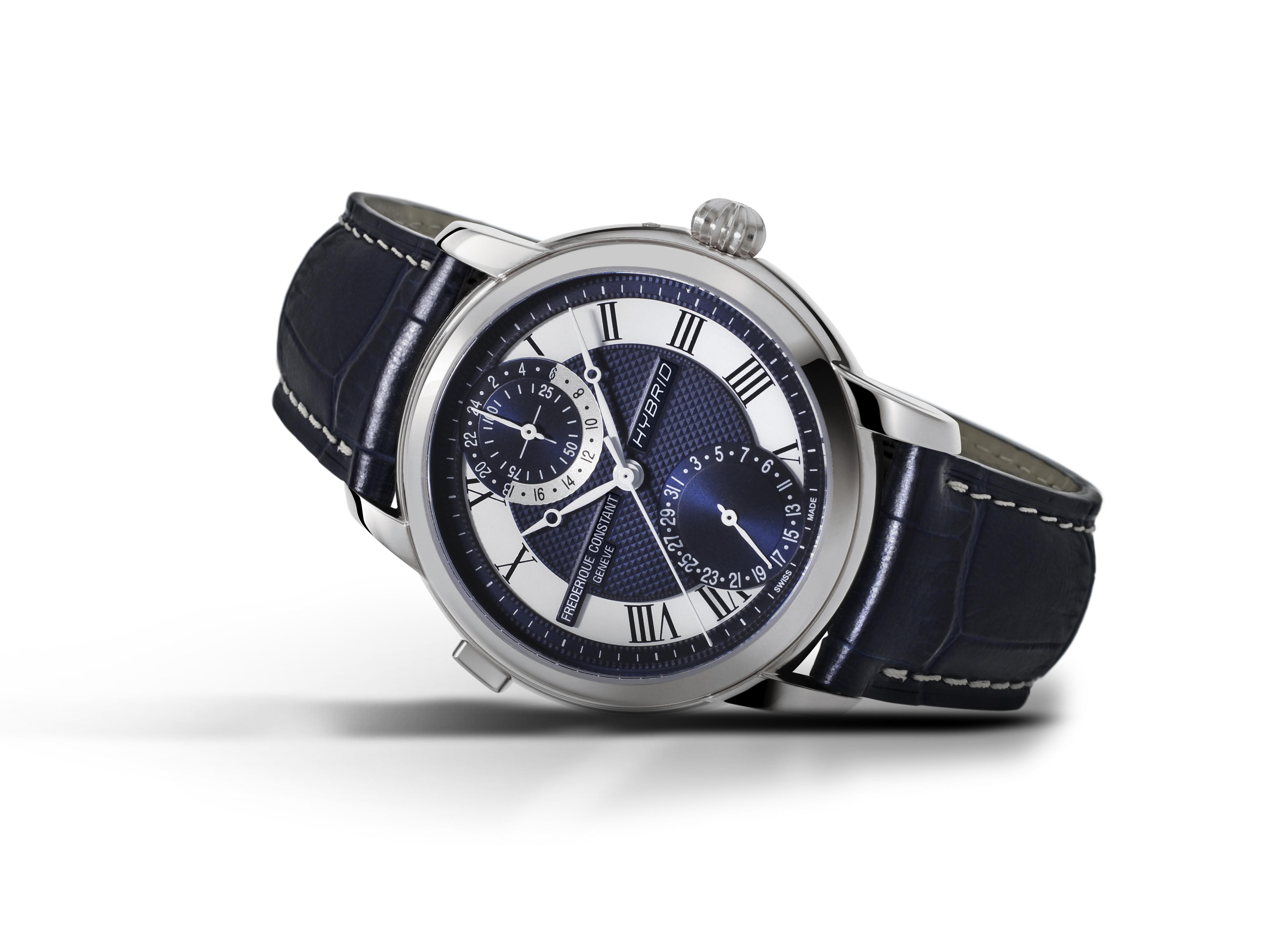 Um smartwatch num relógio de estilo clássico