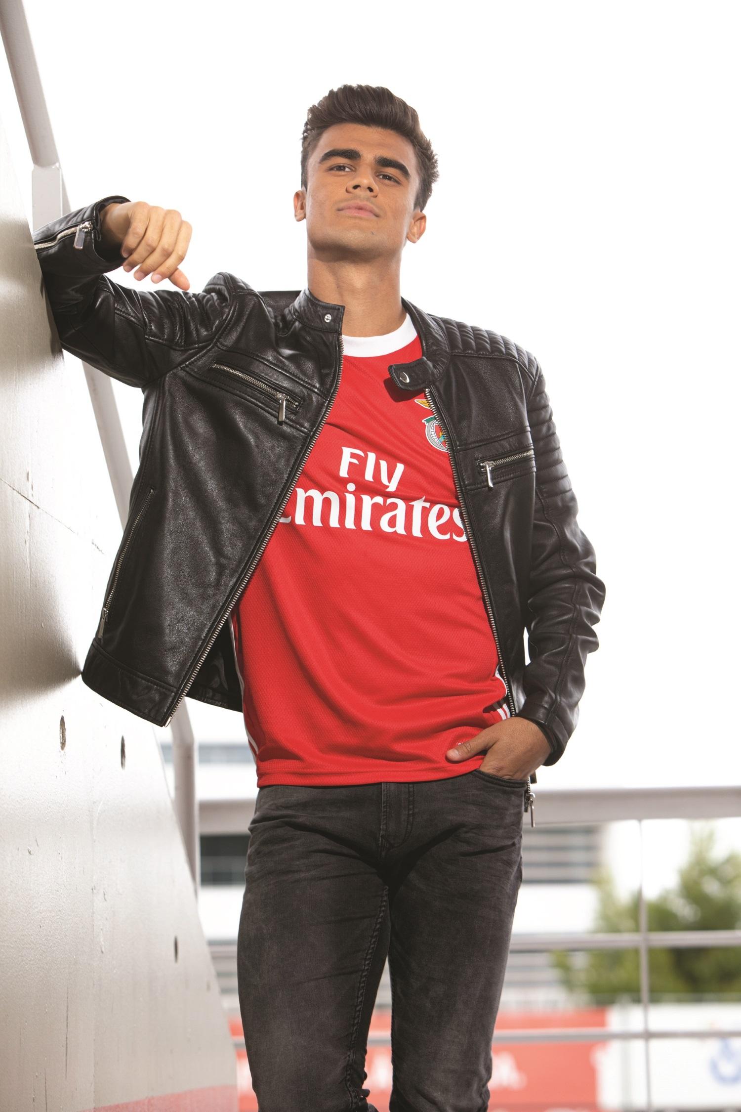 As novas camisolas do SL Benfica
