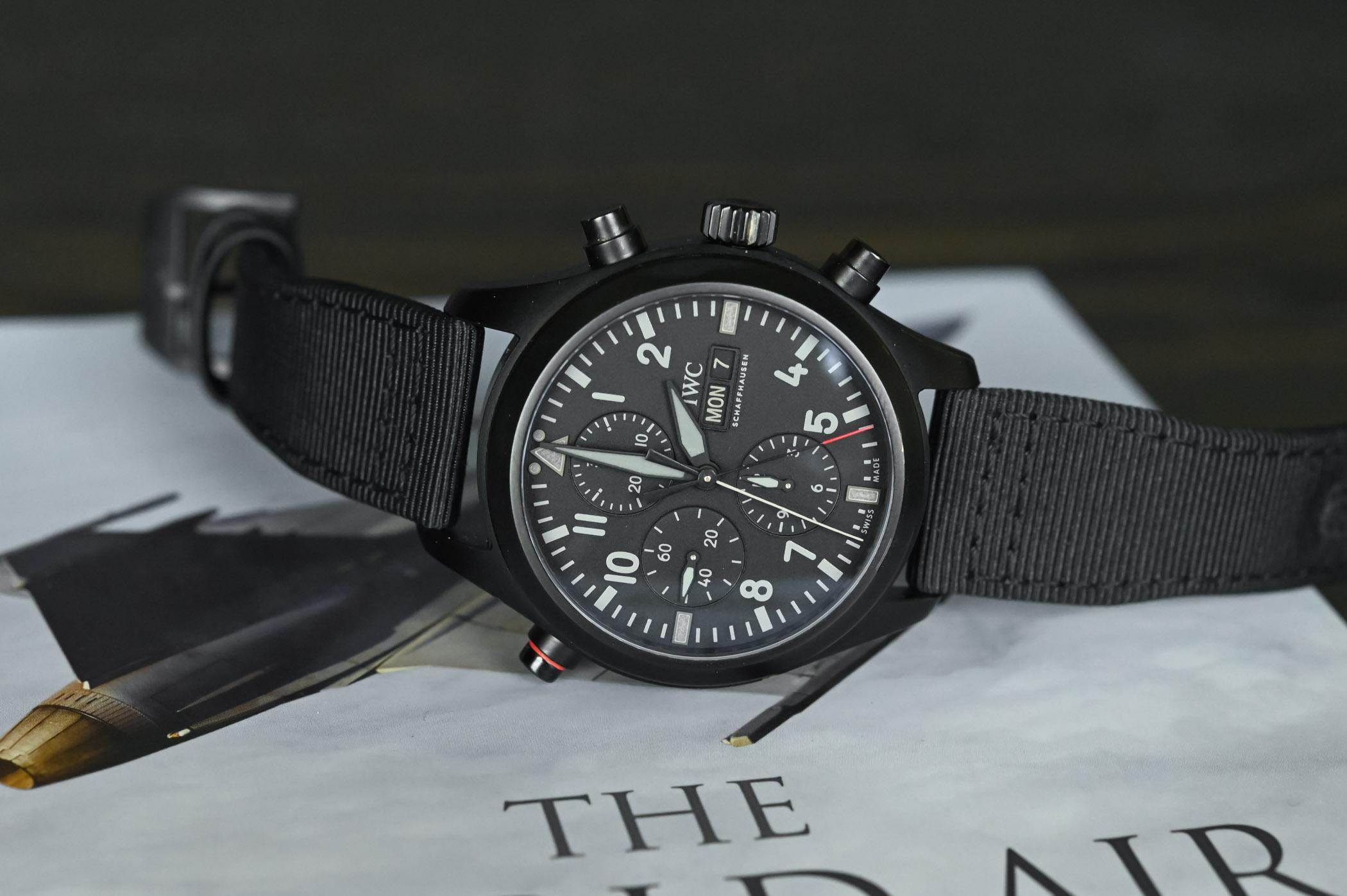 TOP GUN, aviação num relógio