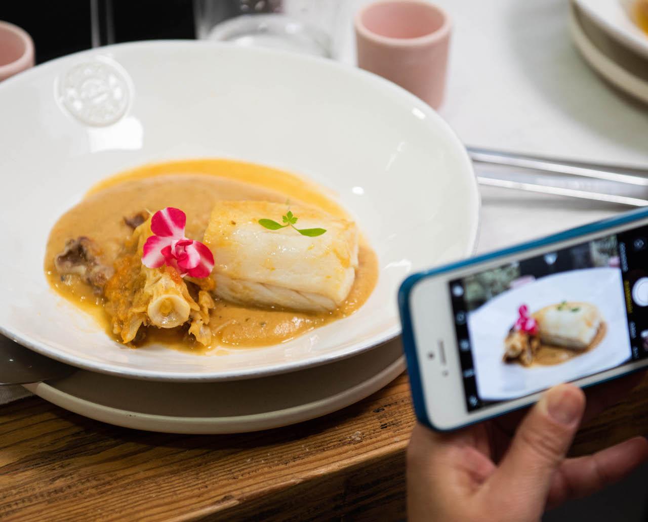 Como é almoçar bacalhau islandês em Portugal?