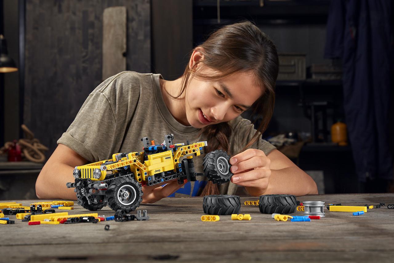 Jeep® & LEGO, diversão para todos