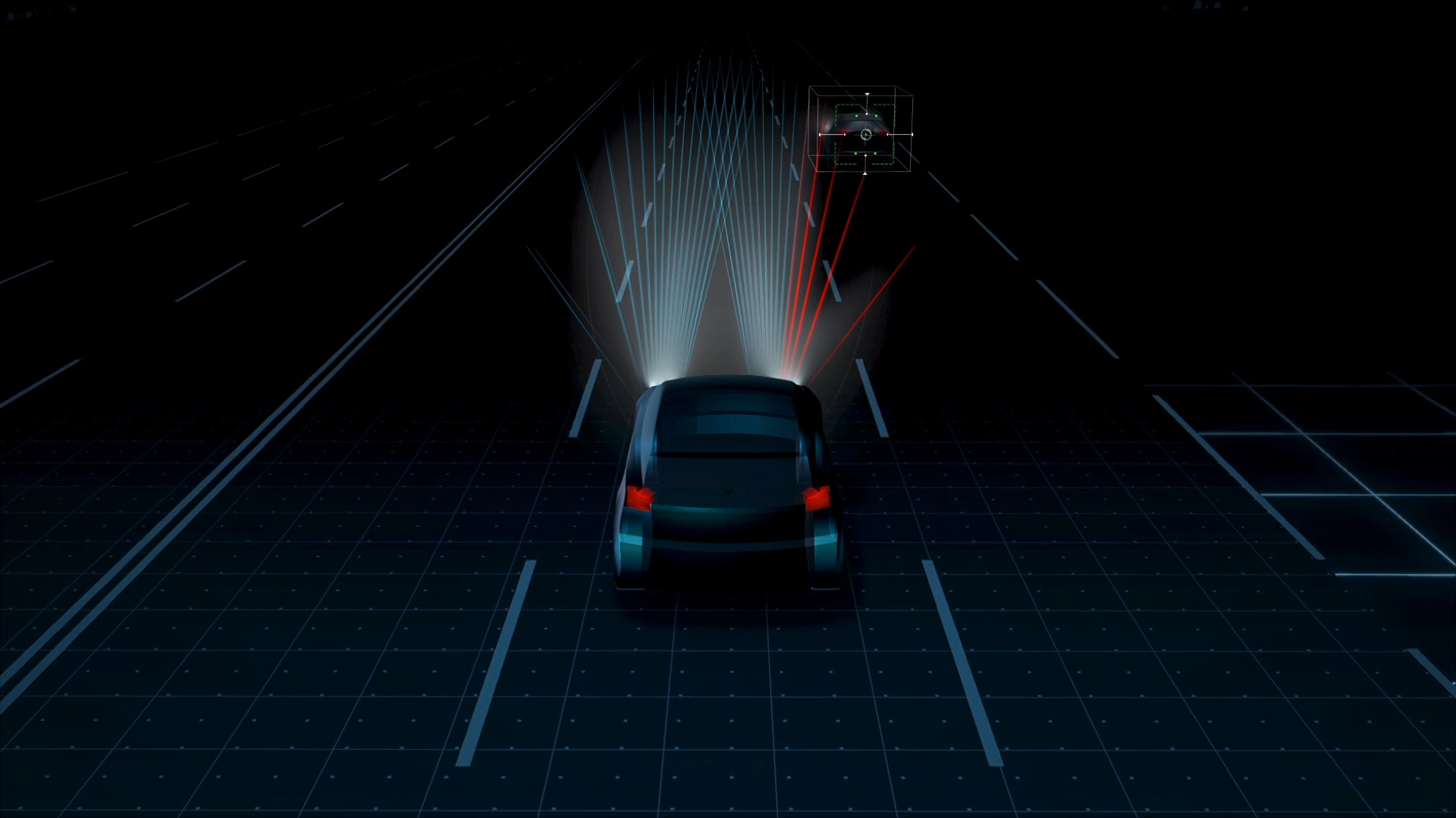 Luxo e tecnologia num automóvel