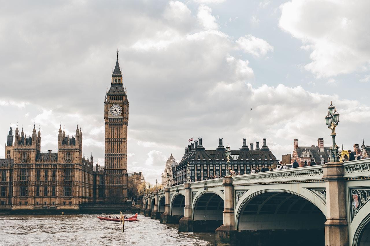 Londres à distância de um clique