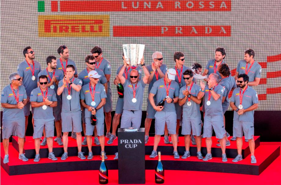 Luna Rossa Prada Pirelli conquista a Copa PRADA
