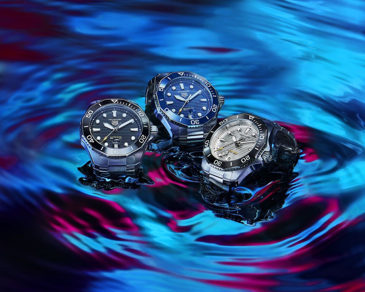 Aquaracer, a surpresa da TAG Heuer