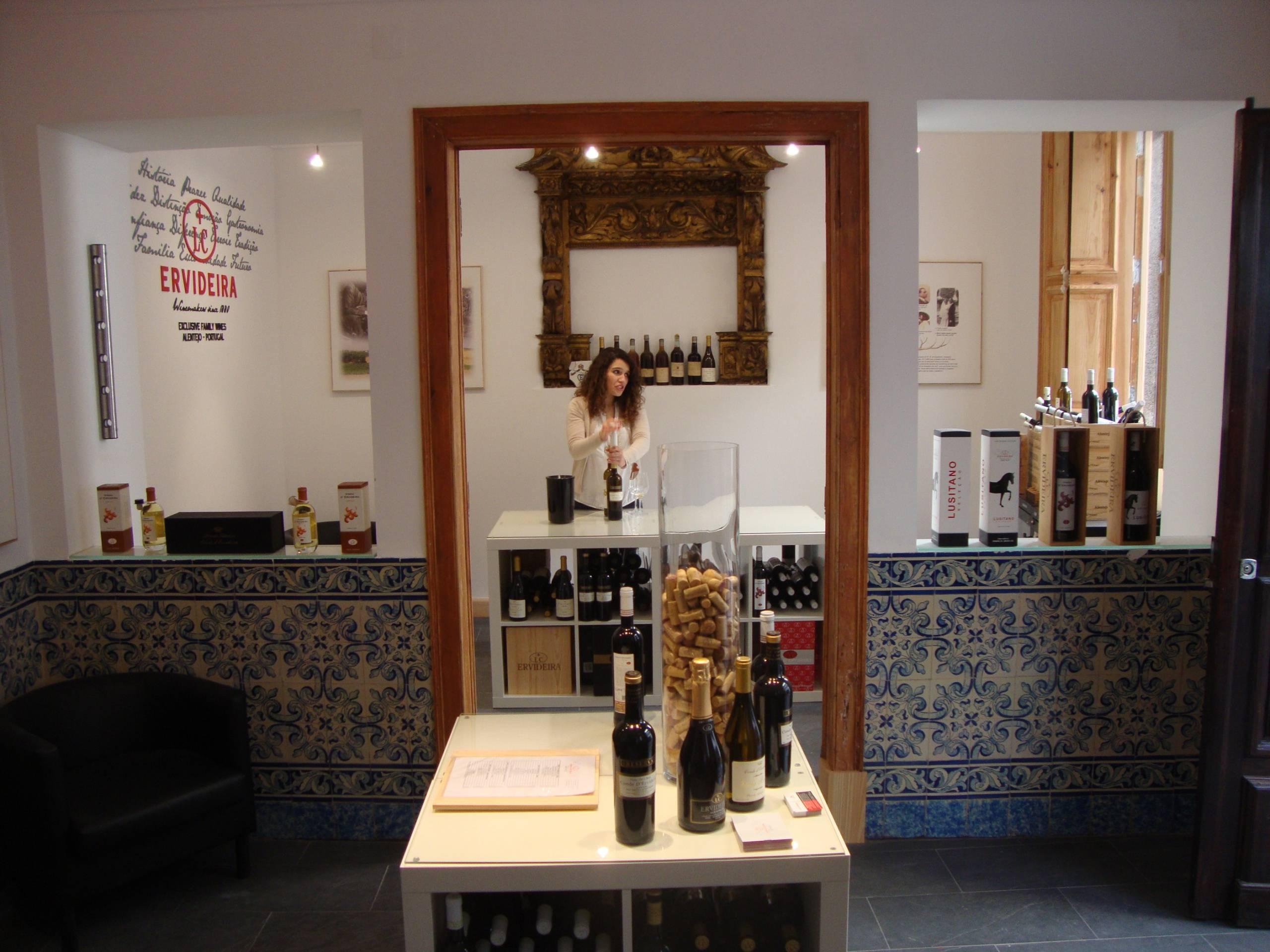 Ervideira Wine Shops com novidades