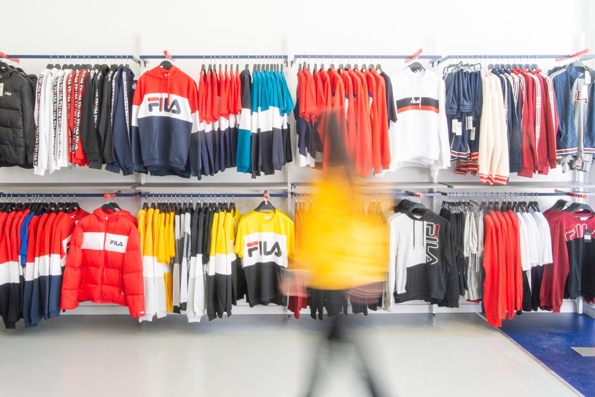 FILA abre primeira loja na Europa.