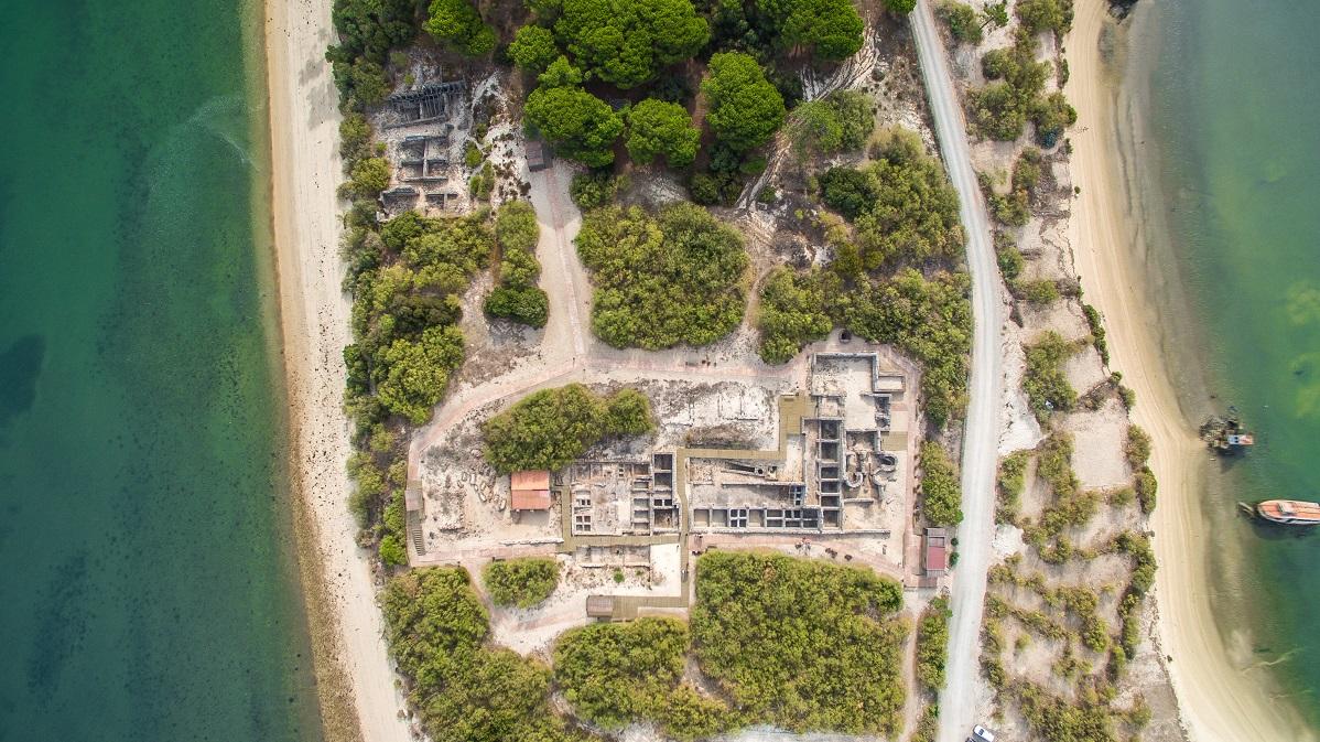 Visitas às Ruínas Romanas de Tróia
