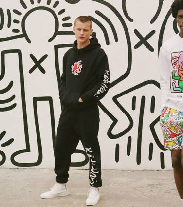 H&M rende-se à arte de Keith Haring