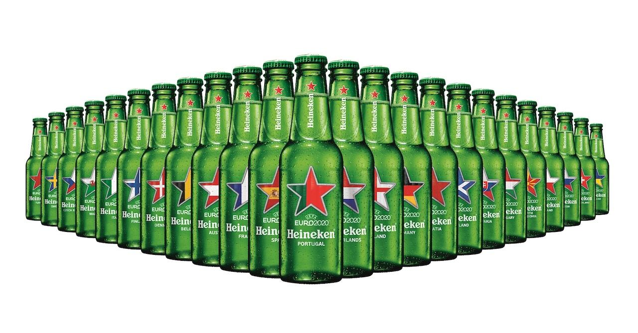 Heineken®, edição limitada de garrafas colecionáveis