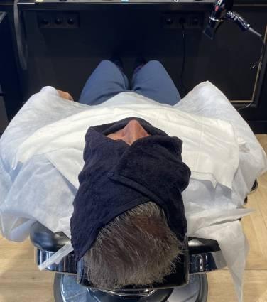 Um barbeiro à antiga