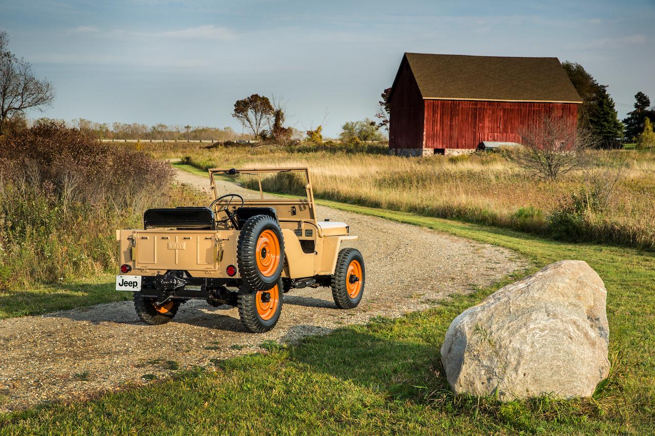 Jeep nasceu há 80 anos nos EUA