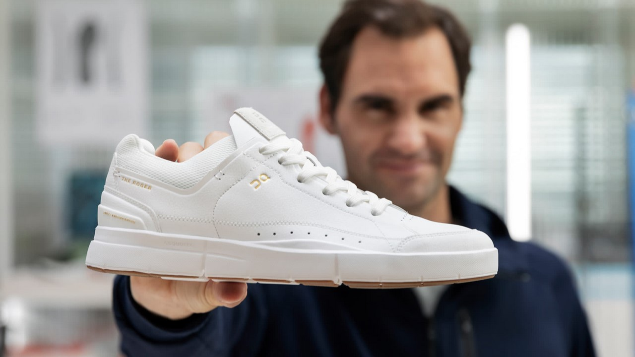 Ténis criados por Roger Federer
