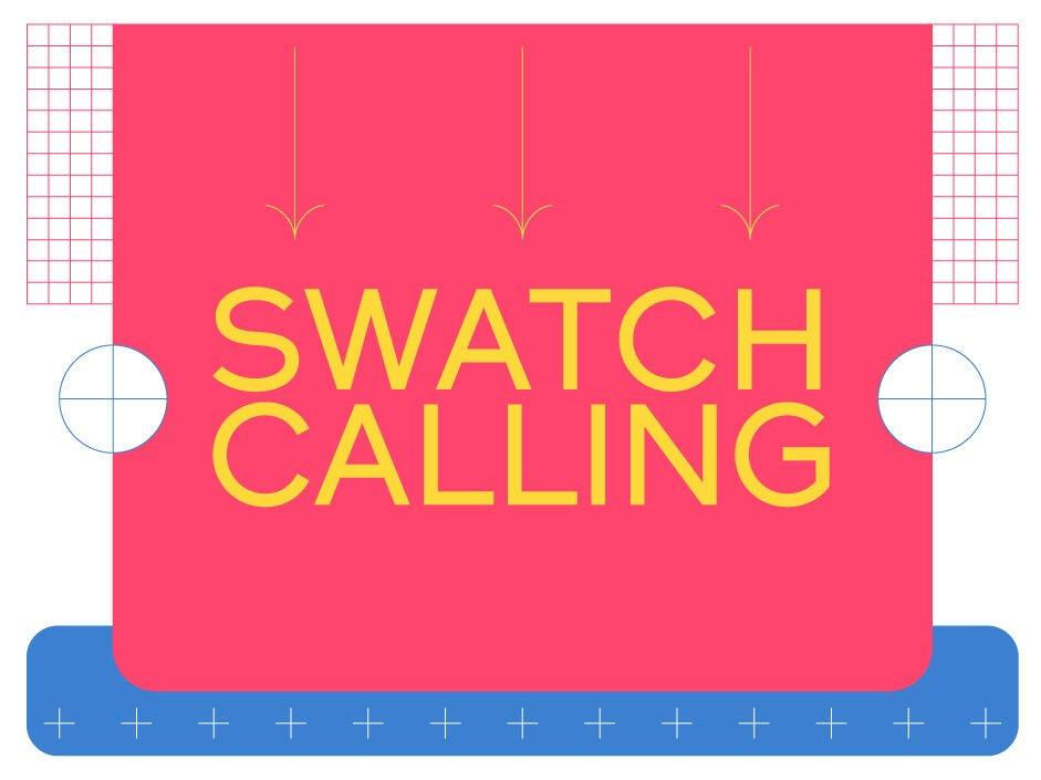 Swatch Calling, um desafio aos artistas
