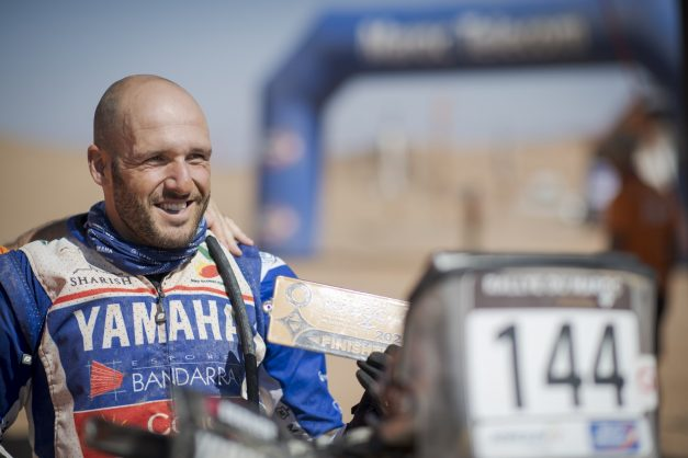 Português marca posição no Rallye du Maroc